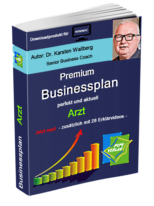 Arzt Businessplan - Downloadprodukt