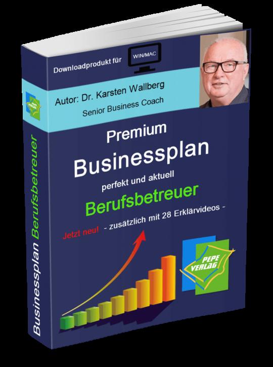 Berufsbetreuer Businessplan - Downloadprodukt