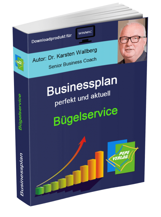 Bügelservice Businessplan - Downloadprodukt