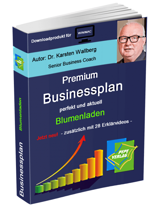 Blumenhandel Businessplan - Downloadprodukt