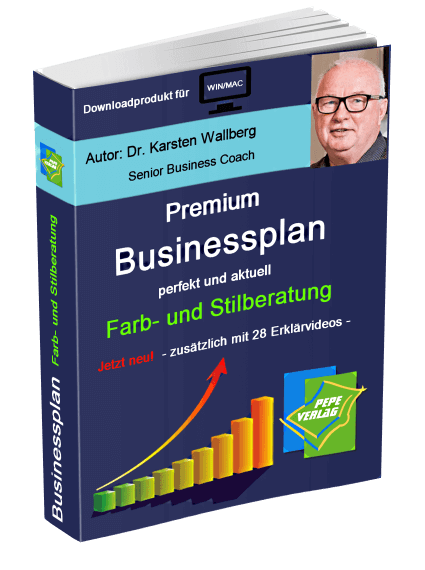 Farb- und Stilberatung Businessplan - Downloadprodukt