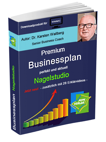 Nagelstudio Businessplan - Downloadprodukt