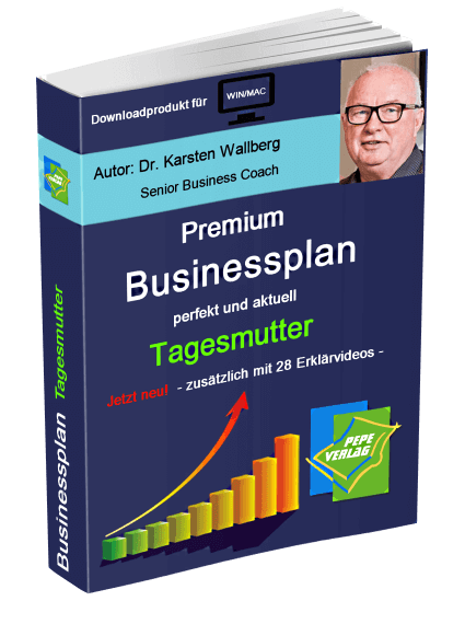 Tagesmutter Businessplan - Downloadprodukt