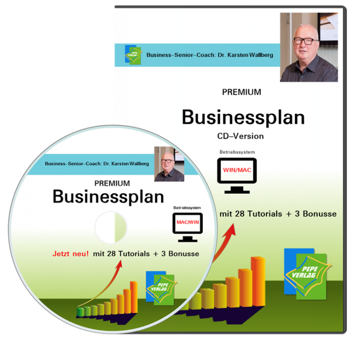 Kiosk Businessplan - CD Version mit Postversand