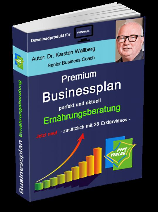 Ernährungsberatung Businessplan - Downloadprodukt