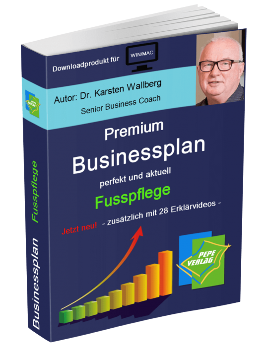 Fusspflege Businessplan - Downloadprodukt