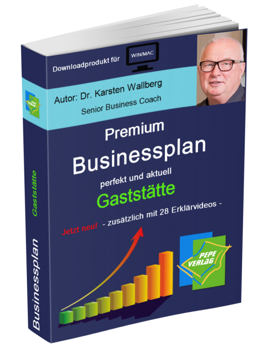 Gaststätte Businesplan - Downloadprodukt