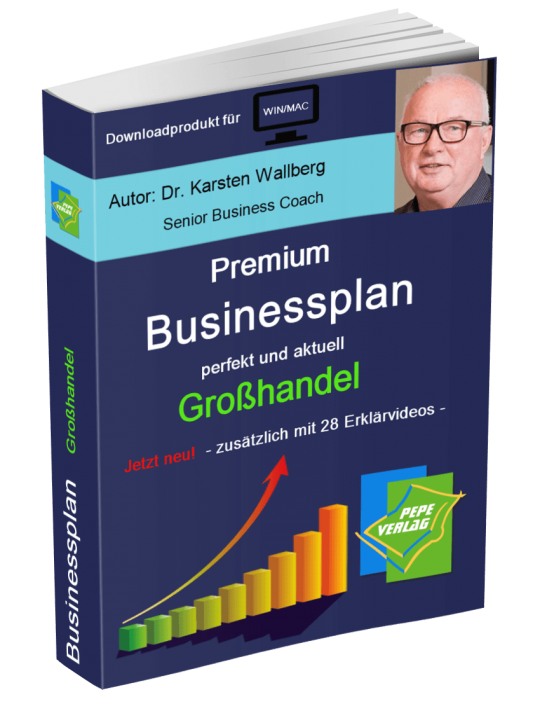 Großhandel Businessplan - Downloadprodukt