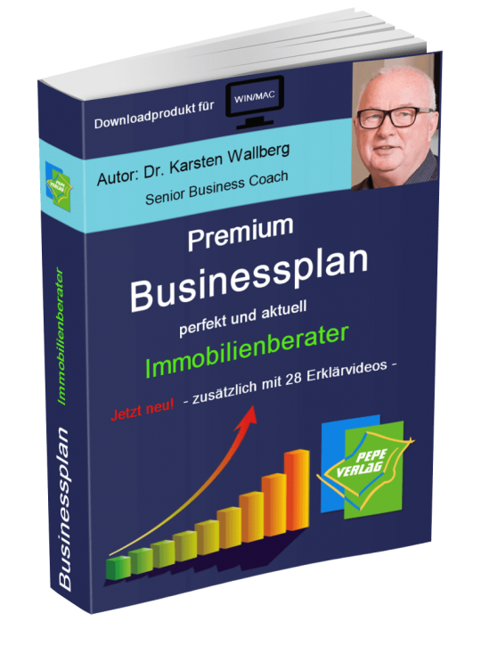 Immobilienberater Businessplan - Downloadprodukt