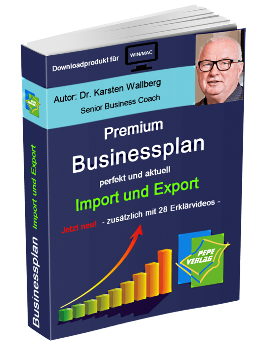 Import und Export Businessplan - Downloadprodukt