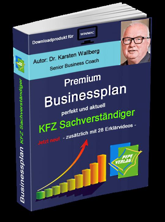 KFZ Sachverständiger Businessplan - Downloadprodukt