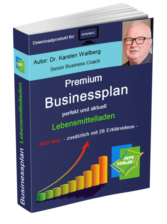 Lebensmittelladen Businessplan - Downloadprodukt