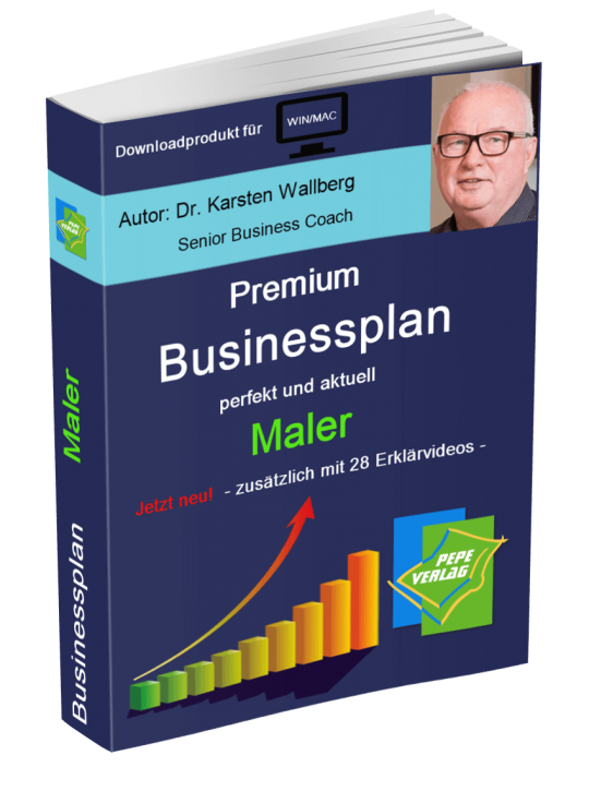 Maler Businessplan - Downloadprodukt