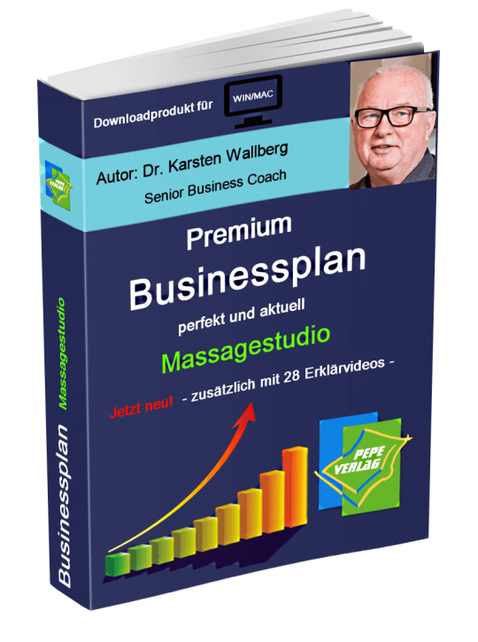 Massage Studio Businessplan - Downloadprodukt