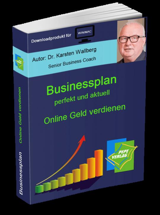 Online Geld verdienen Businessplan - Downloadprodukt