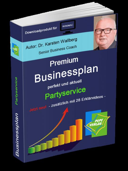 Partyservice Businessplan - Downloadprodukt