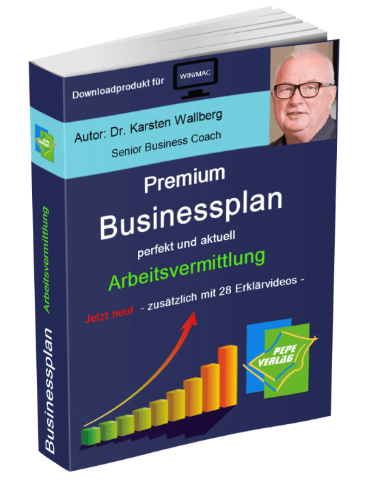 Private Arbeitsvermittlung Businessplan - Downloadprodukt