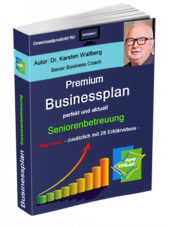 Seniorenbetreuung Businessplan - Downloadprodukt