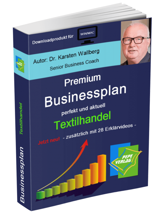Textilhandel Businessplan - Downloadprodukt