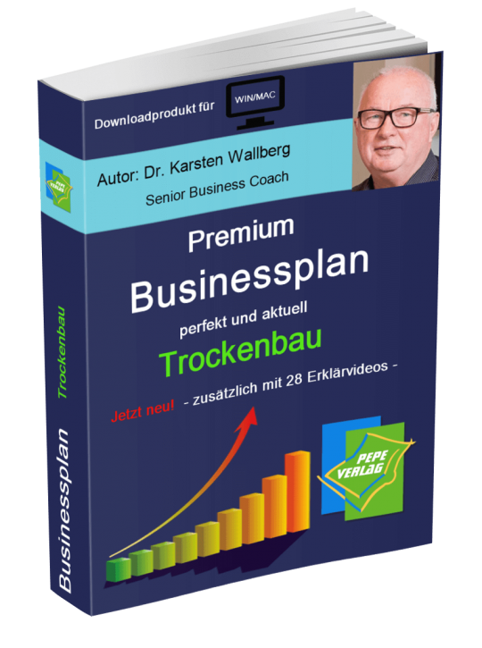 Trockenbau Businessplan - Downloadprodukt
