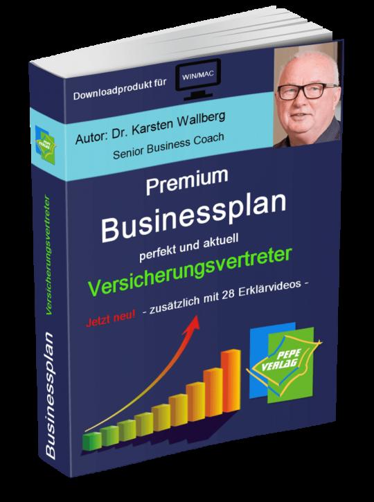 Versicherungsvertreter Businessplan - Downloadprodukt