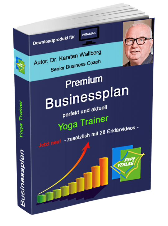 Yoga Trainer Businessplan - Downloadprodukt