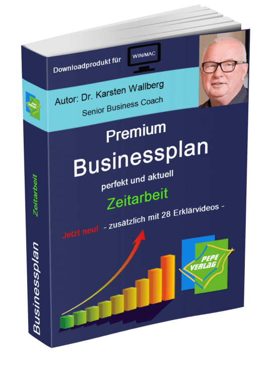 Zeitarbeit Businessplan - Downloadprodukt